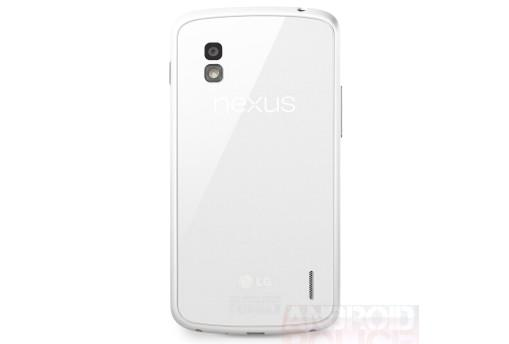 The white Google Nexus 4 (Image credit: AndroidPolice.com)