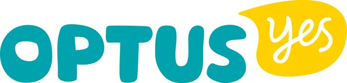 The new Optus logo.