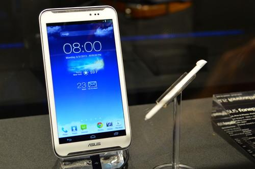 The ASUS FonePad Note unveiled at Computex.