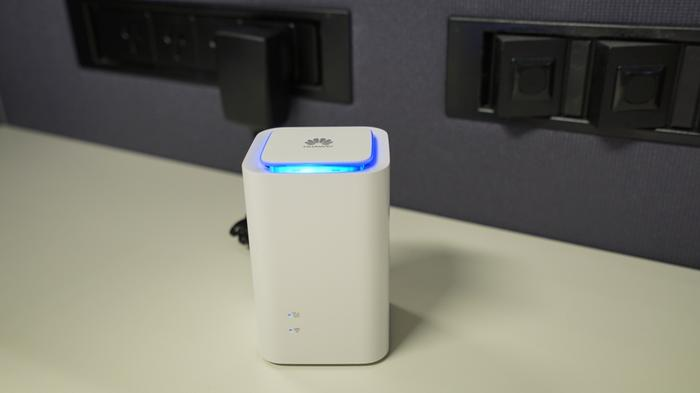 The 'Cube' moniker is a misnomer as the Huawei Wi-Fi modem is in the shape of a rectangular prism