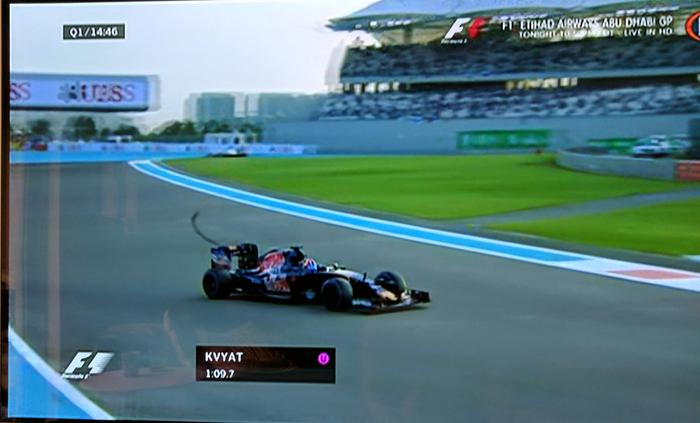 Watching Formula 1 in Standard Definition has resulted in pixelated messes on previous LG OLED models. Now lines and objects are much smoother.