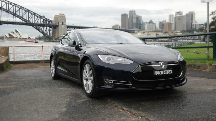 The Tesla Model S 85 loaned to Good Gear Guide for review