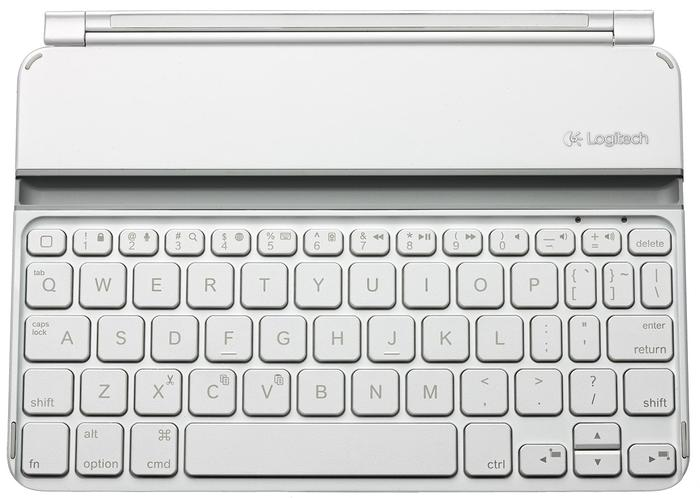 The Ultrathin Keyboard mini is available in black and white.