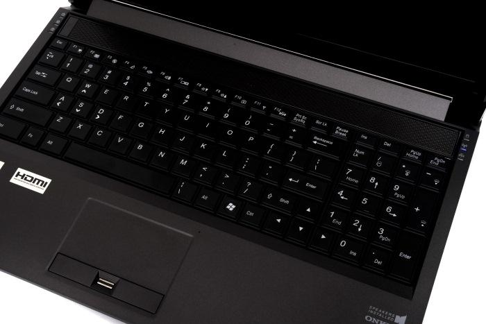 An overview of the keyboard and touchpad layout.