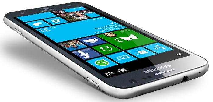 The Samsung ATIV S is only 8.7mm thin and weighs just 135g.