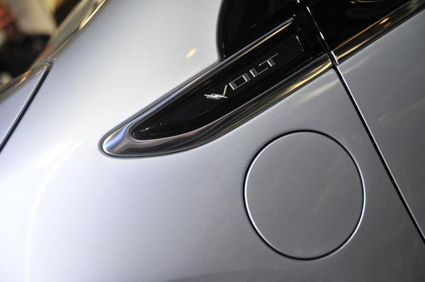 The Volt can be charged using a regular Australian power outlet.