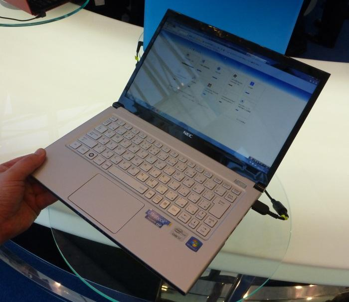 The lightest Ultrabook we've ever lifted with one hand.