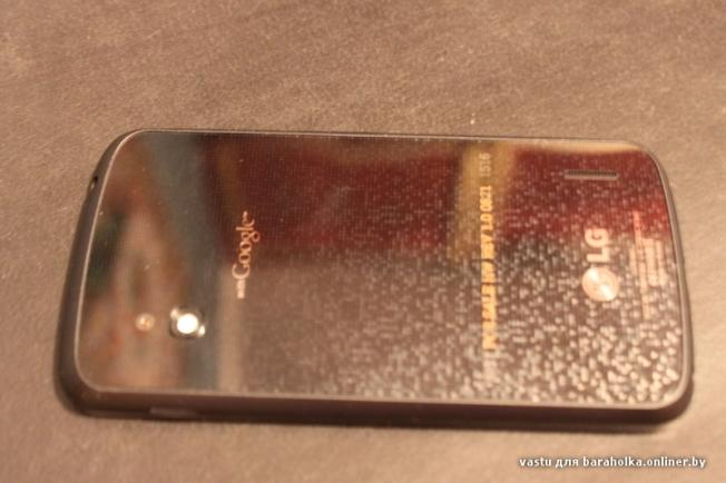 The back of the rumoured LG Nexus phone (Image credit: baraholka.onliner.by)