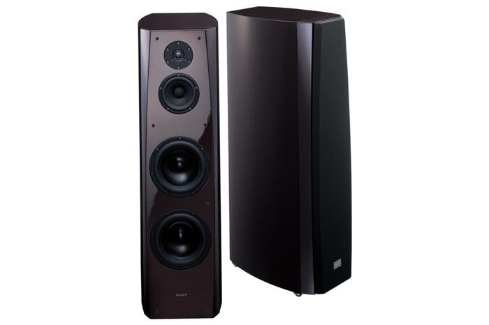 Sony's SS-AR1 stereo audophile speakers.