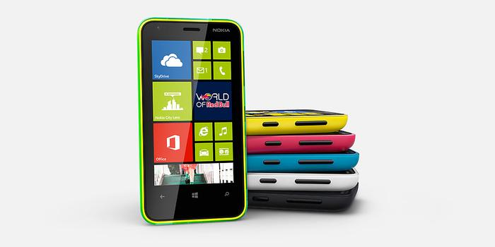 The Lumia 620 makes use of what is described as a
