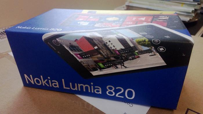 A photo we captured with the Lumia 820 (click to enlarge).