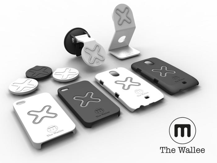 The full range of Wallee M cases and accessories.