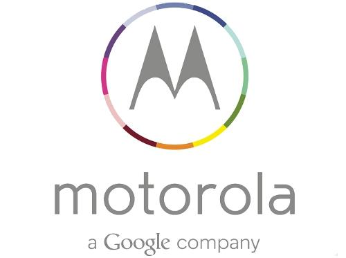 Motorola's new logo incorporates the Google brand.