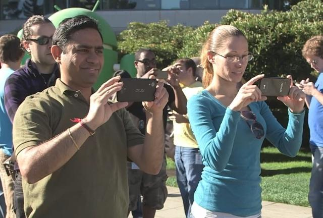 The Nexus 5 could have appeared in a Google video last week.