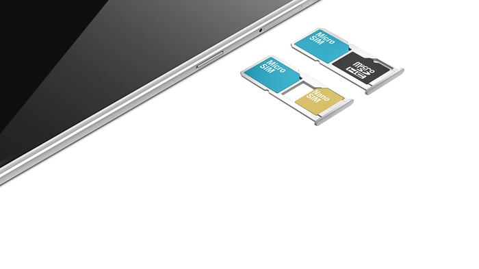 Dual-SIM or expandable storage, it's up to you