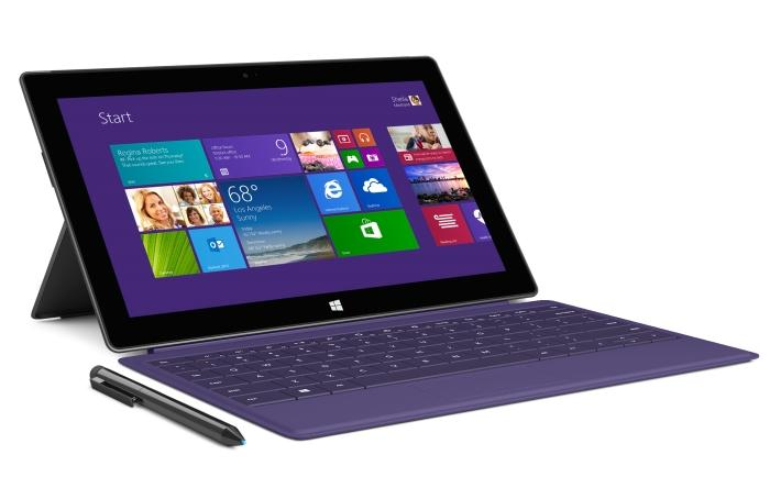 New colours have been introduced to the Type Cover 2, and the keys are now backlit.