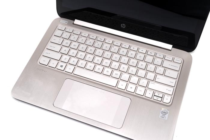 The touchpad is the largest we've seen in an Ultrabook to date, mainly to facilitate swipe-in Windows 8 gestures.