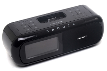 bush bcr26dabip review this bush clock radio incorporates an ipod iphone dock home. Black Bedroom Furniture Sets. Home Design Ideas