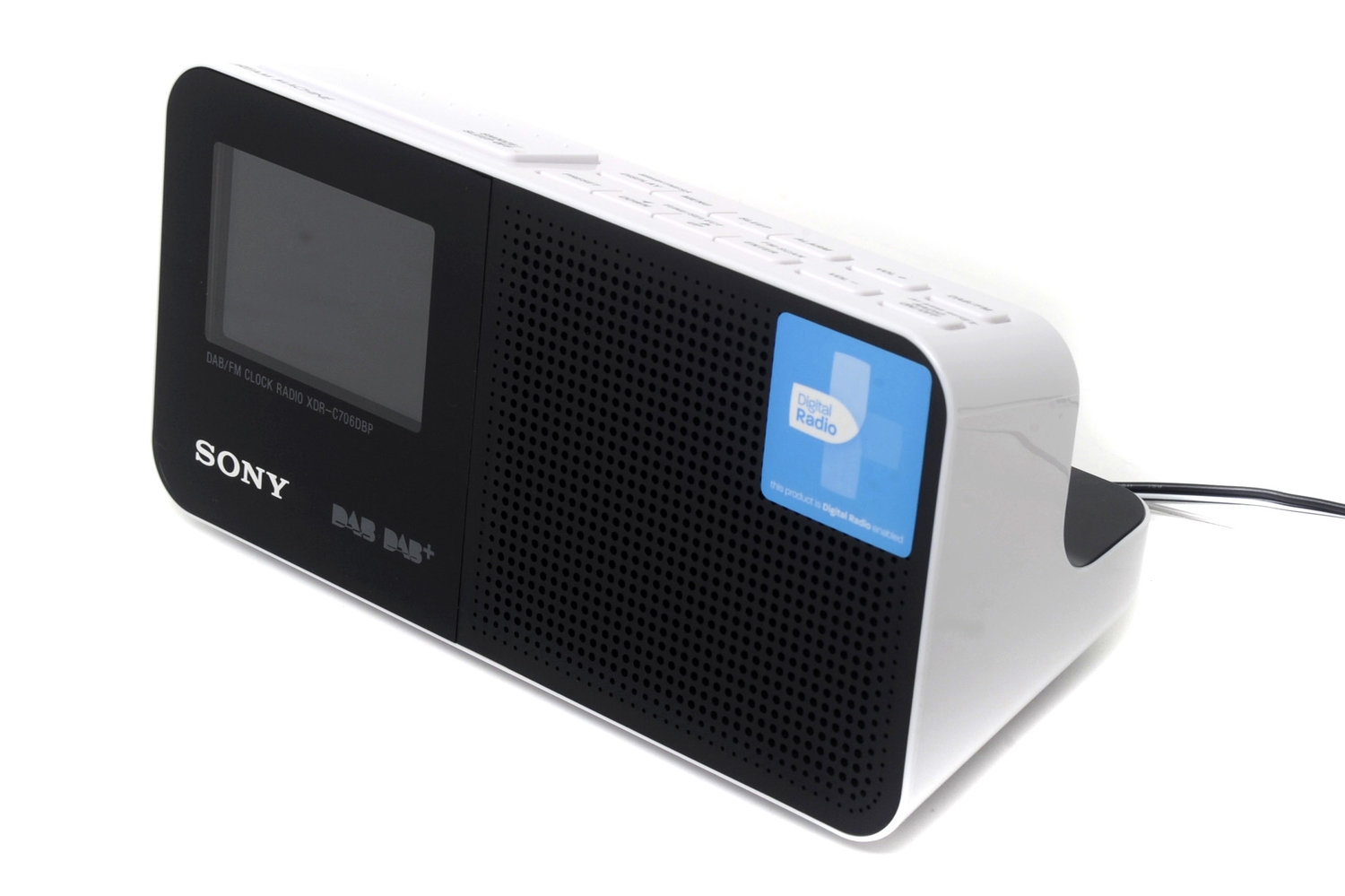 sony xdr c706dbp dab review sony xdr c706dbp dab digital radio an alarm clock that lets you. Black Bedroom Furniture Sets. Home Design Ideas