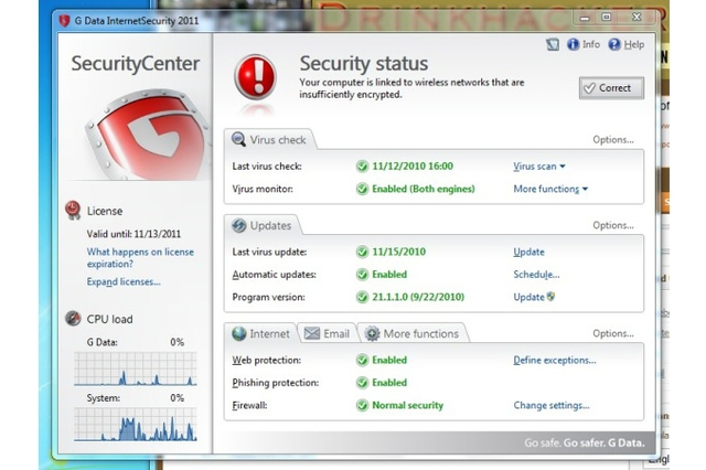 G-Data Internet Security 2011