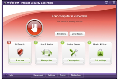 Webroot Internet Security Essentials 2011