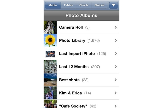 Apple Pages for iPhone