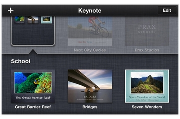 Apple Keynote for iPhone