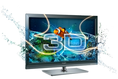 "Kogan 55"" 3D LED TV with PVR"