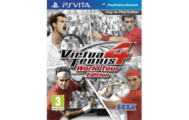 Sega Virtua Tennis 4: World Tour Edition (PS Vita)