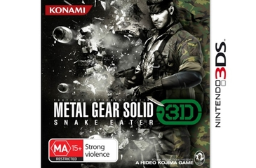 Konami Metal Gear Solid 3: Snake Eater (3DS)