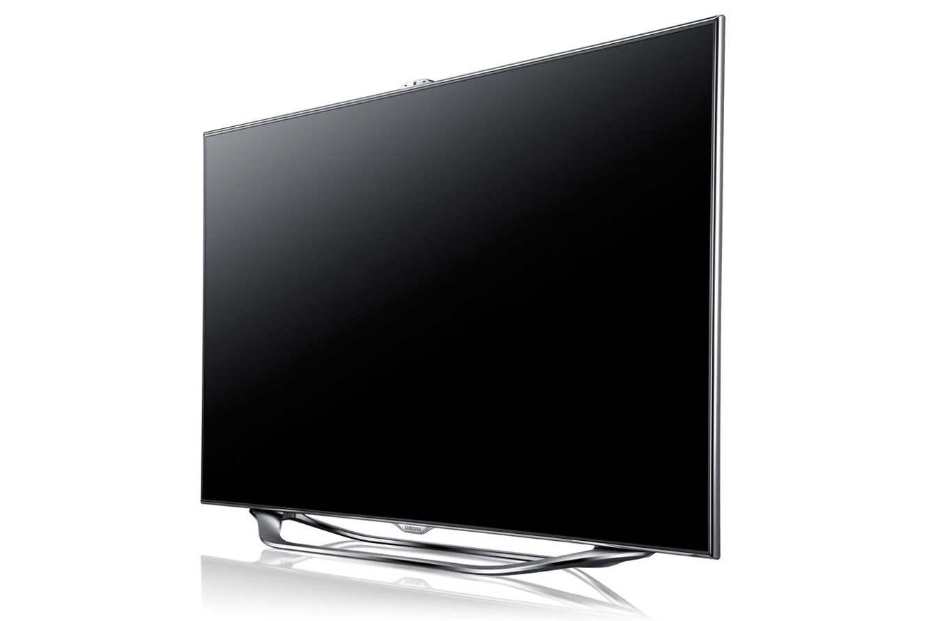 samsung series 8 ua55es8000m review samsung s top led includes voice and gesture control is. Black Bedroom Furniture Sets. Home Design Ideas