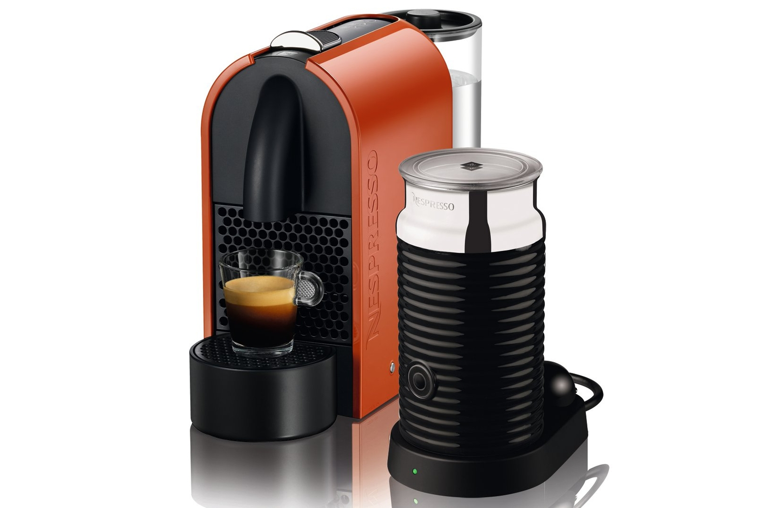 nespresso u review the nespresso u is the baby of the. Black Bedroom Furniture Sets. Home Design Ideas