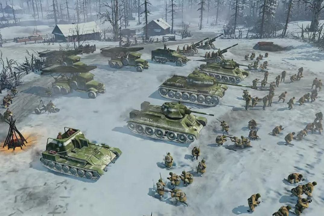 relic entertainment company of heroes 2 pc review relic entertainment s second tour of duty. Black Bedroom Furniture Sets. Home Design Ideas
