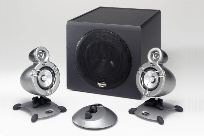 klipsch promedia gmx a 2 1 specifications pc components pc speakers good gear guide australia. Black Bedroom Furniture Sets. Home Design Ideas