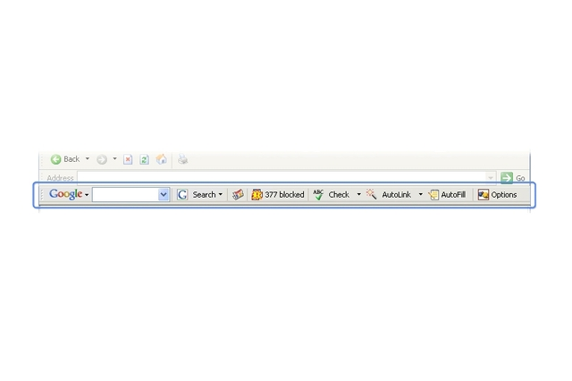Google Toolbar 4 Beta