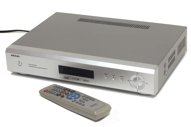 Regal GR-3300TDVI High Definition Digital Receiver
