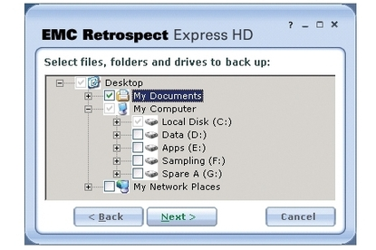 EMC Corporation Retrospect Express HD 2.0