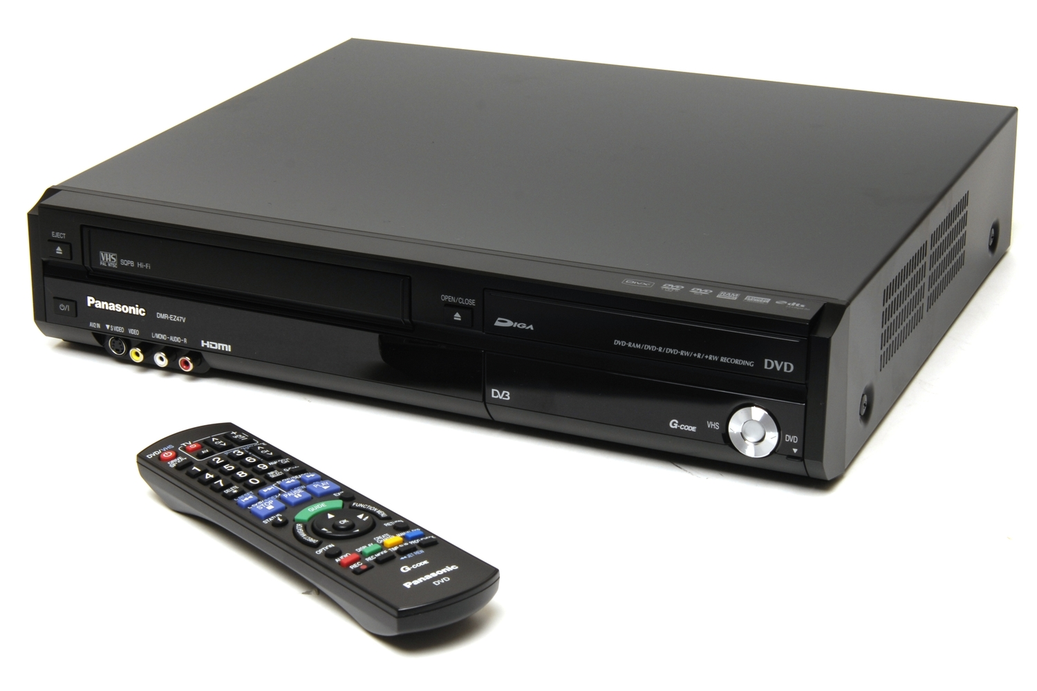 Panasonic DMR-EZ47V Review: - Home Entertainment - DVD Players-Recorders -  Good Gear Guide