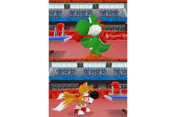 Sega Mario and Sonic at the Olympic Games