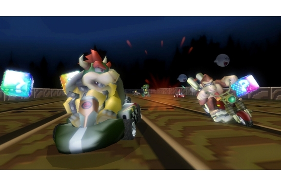 how to get good at mario kart wii