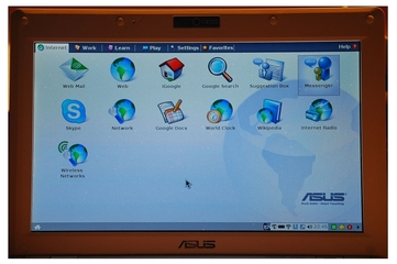 ASUS Eee PC 900 (Linux version)