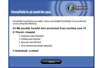 Check Point Software Technologies ZoneAlarm ForceField