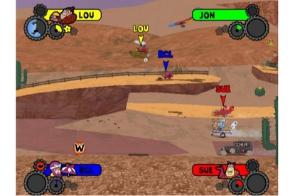Warner Bros. Interactive Entertainment Wacky Races: Crash & Dash