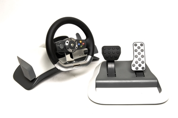 Microsoft Xbox 360 Wireless Steering Wheel