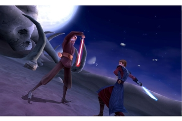 LucasArts Star Wars The Clone Wars: Lightsaber Duels