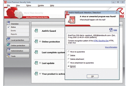 Avira Premium Security Suite 8.0