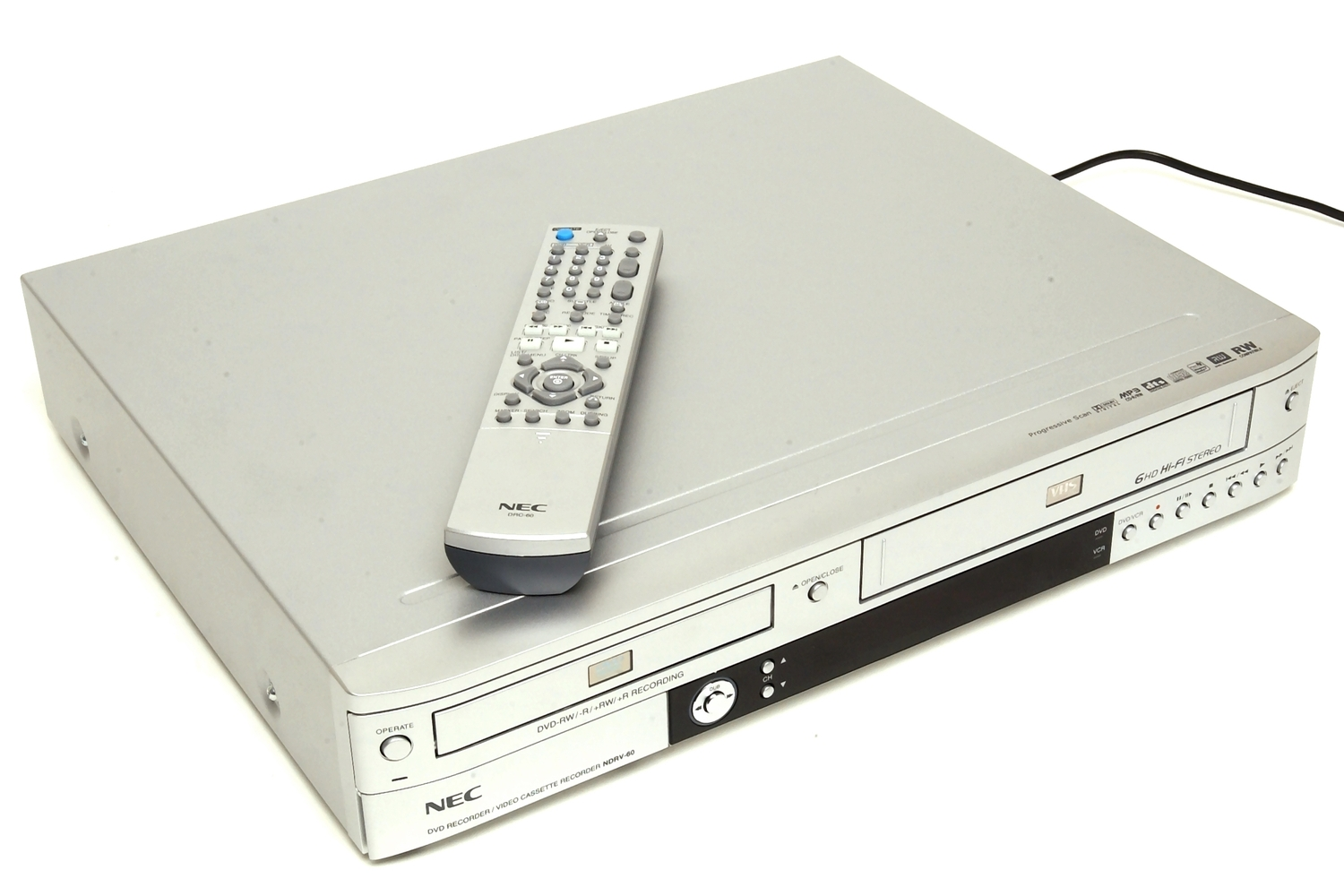 NEC NDRV-60 Specifications - Home Entertainment - DVD Players ...