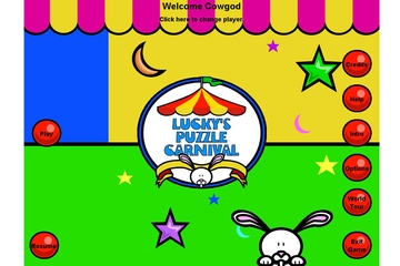 Orbital Cows Lucky's Puzzle Carnival