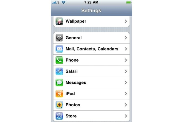 Apple iPhone OS 3.0 Software Update