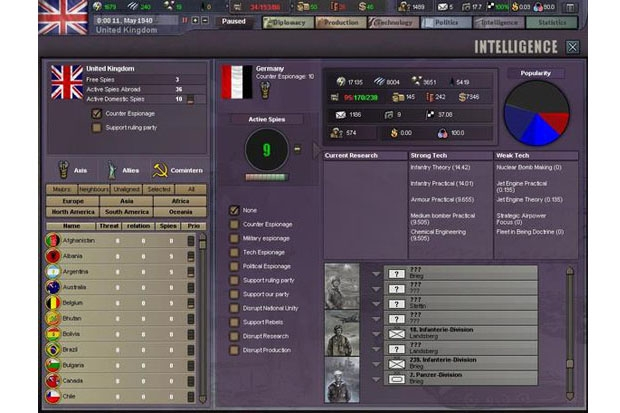 Paradox Interactive Hearts of Iron III